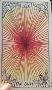 The Sun - The Wild Unknown Tarot